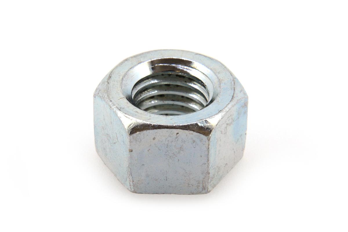 鉄/ユニクロ 10割 六角ナット [1種]M27 【 小箱 : 1箱/35個入り 】