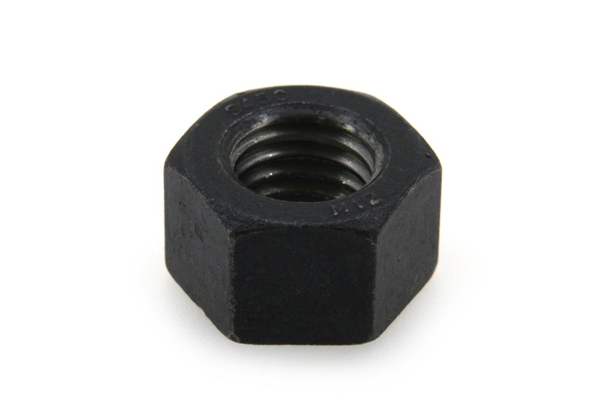 鉄(S45C)/生地 10割 六角ナット [1種]M42 【 お得セット : 10個入り 】