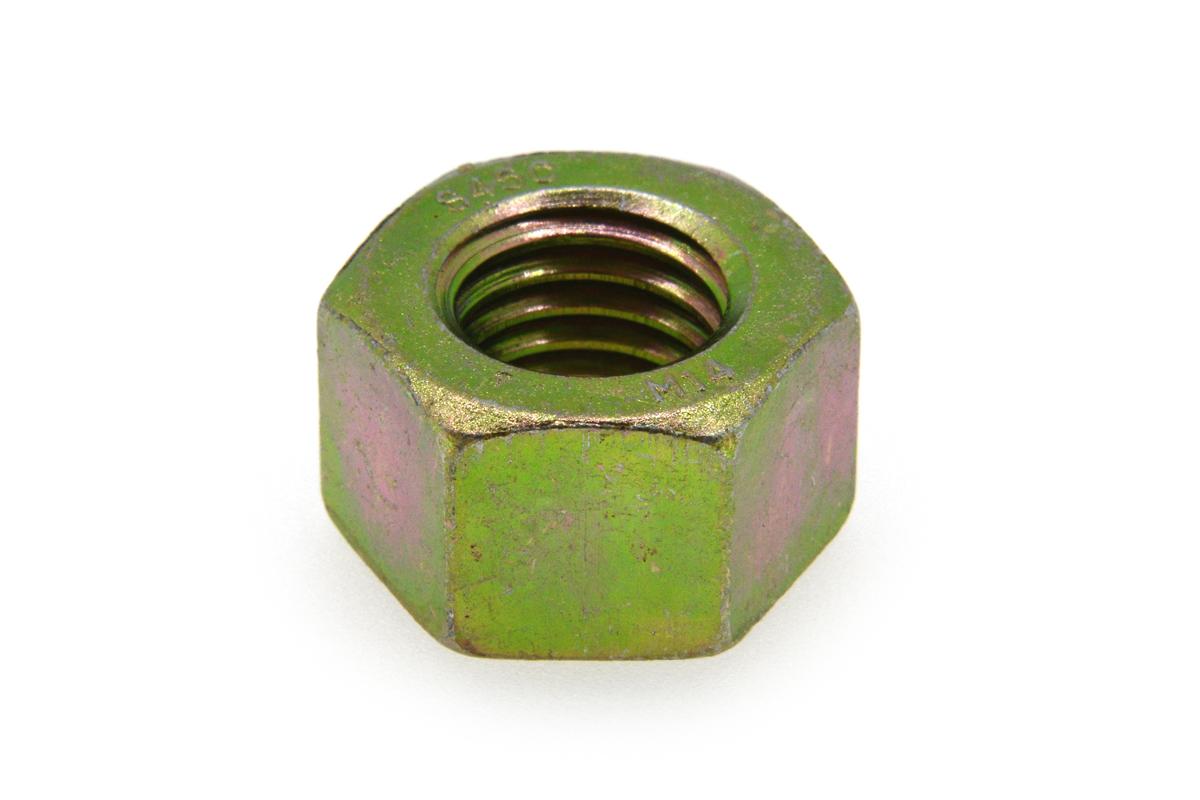 鉄(S45C)/クロメート 10割 六角ナット [1種]M10 【 小箱 : 1箱/250個入り 】
