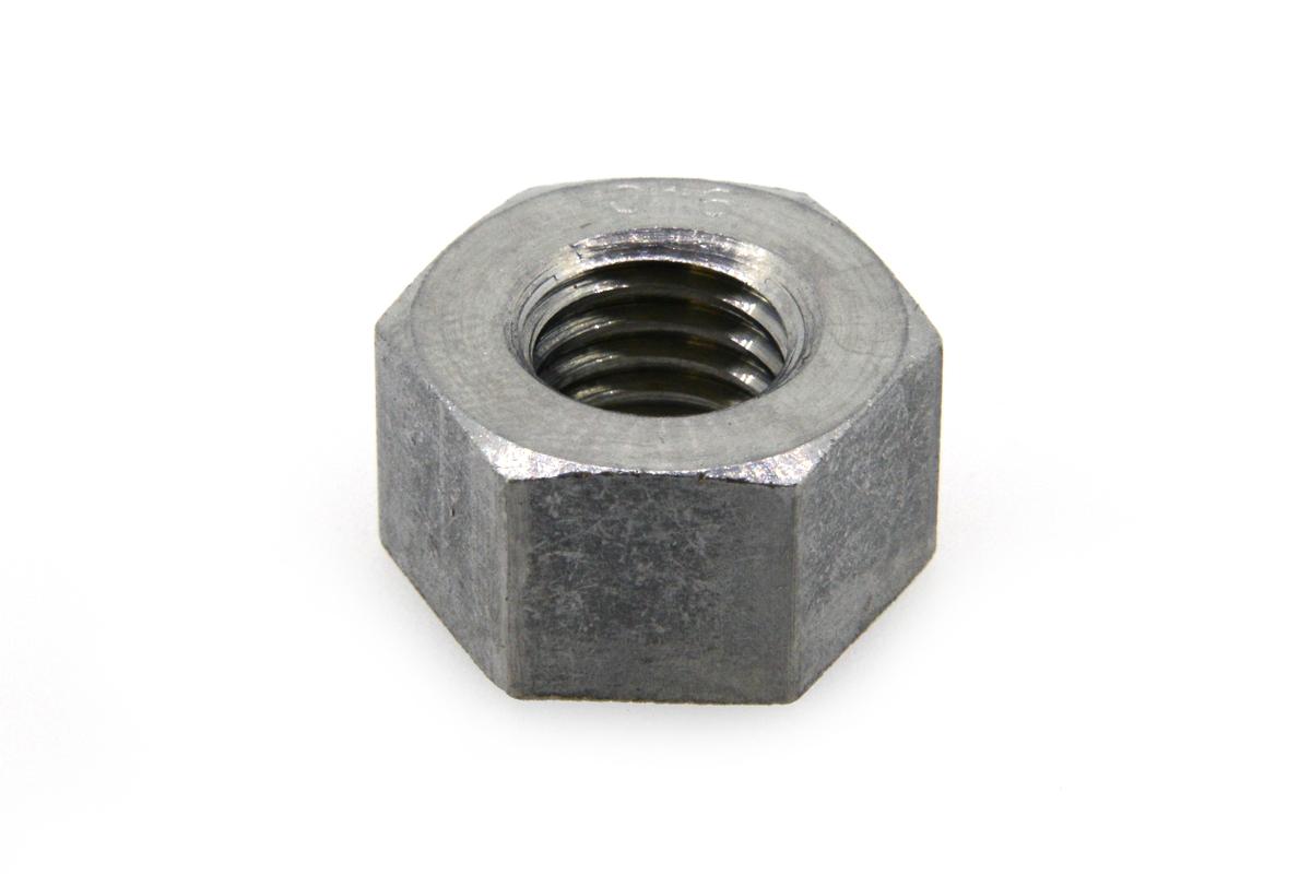 SUS316/生地 10割 六角ナット [1種]M20 【 お得セット : 10個入り 】