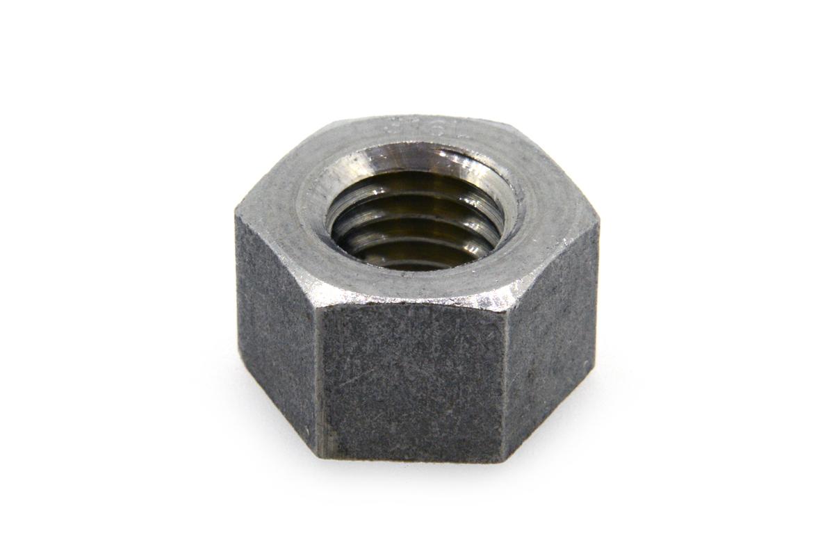 SUS316L/生地 10割 六角ナット [1種]M22 【 お得セット : 10個入り 】
