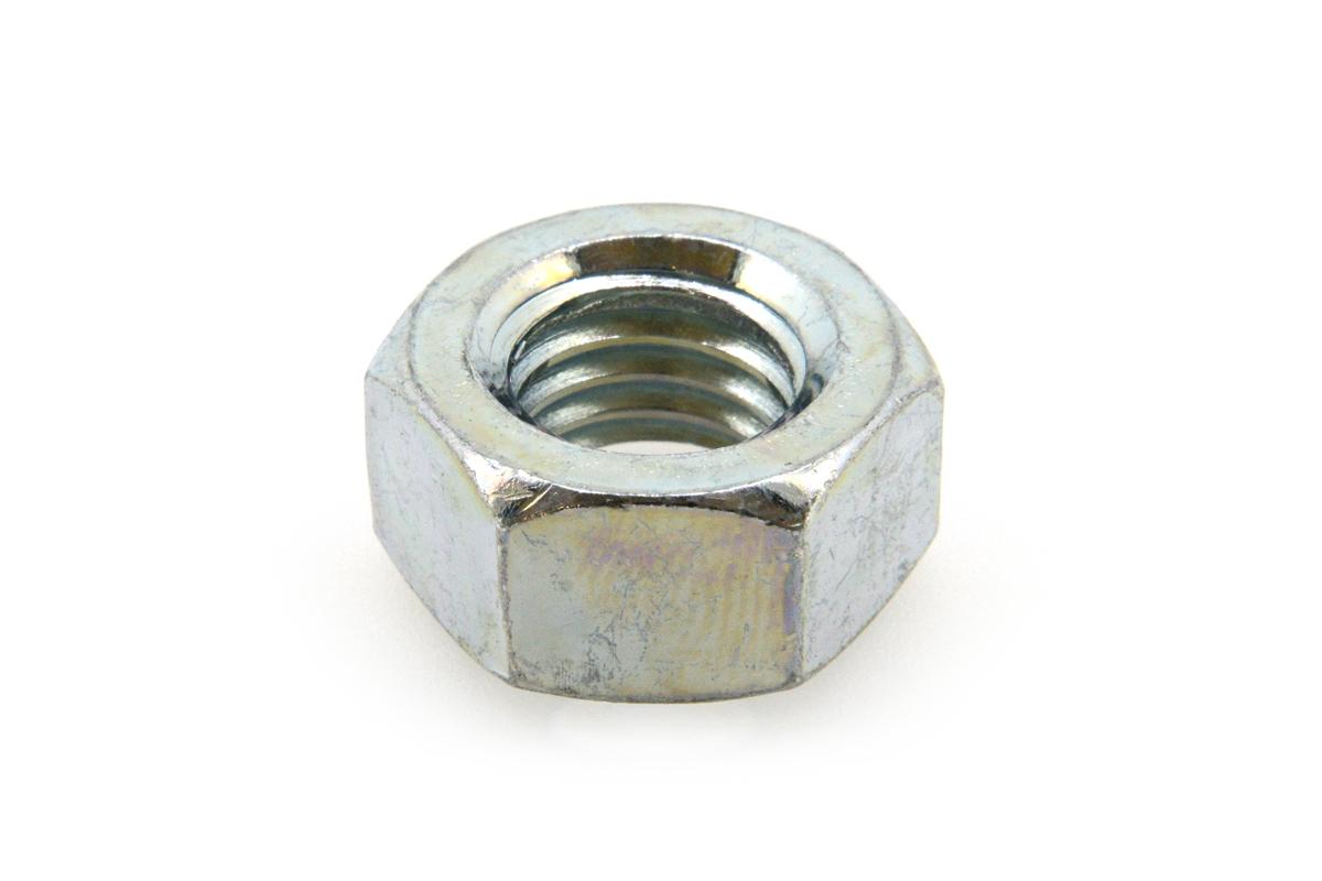 鉄/三価ホワイト 六角ナット [2種]M2 【 小箱 : 1箱/8000個入り 】