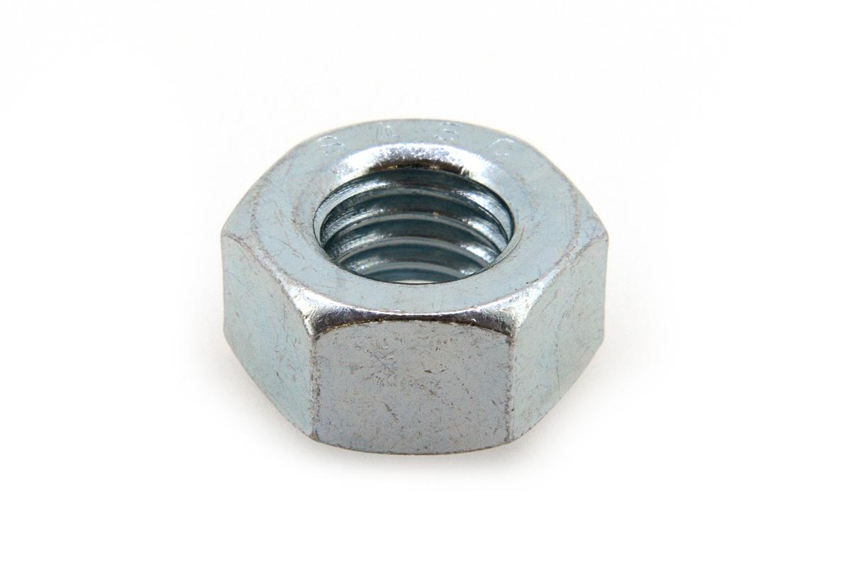 鉄(S45C)/ユニクロ 六角ナット [2種]M20 【 小箱 : 1箱/125個入り 】