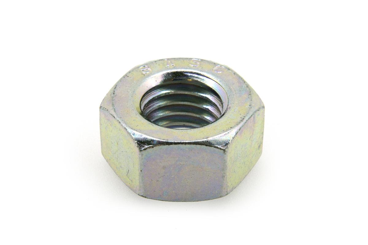 鉄(S45C)/三価ホワイト 六角ナット [2種]M4 【 小箱 : 1箱/5000個入り 】