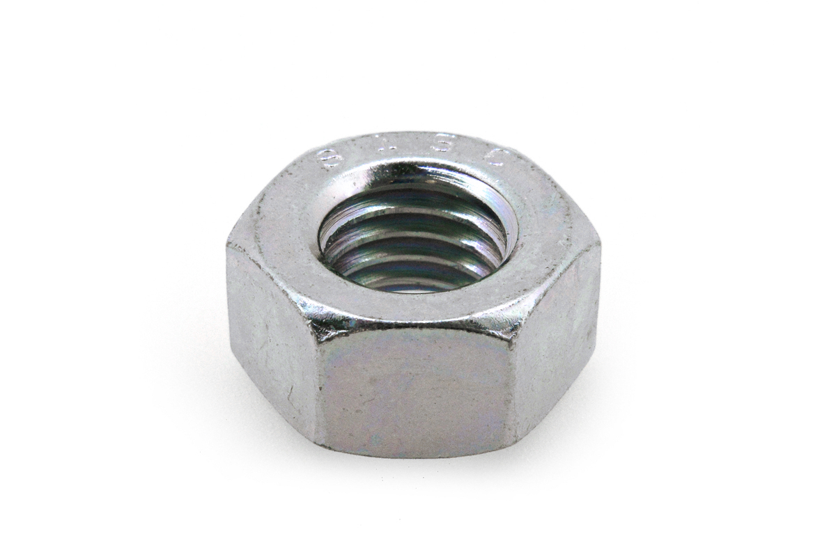 鉄(S45C)/ユニクロ 六角ナット [2種] (細目)M20 《ピッチ=1.5》 【 小箱 : 1箱/50個入り 】