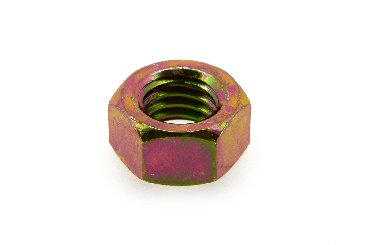 鉄(S45C)/クロメート 小形 六角ナット [2種] (細目)M14 《ピッチ=1.5》 【 小箱 : 1箱/180個入り 】