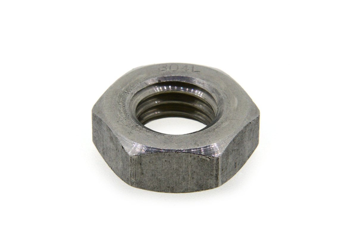 SUS304L/生地 六角ナット [3種] 切削加工M24 【 お得セット : 10個入り 】