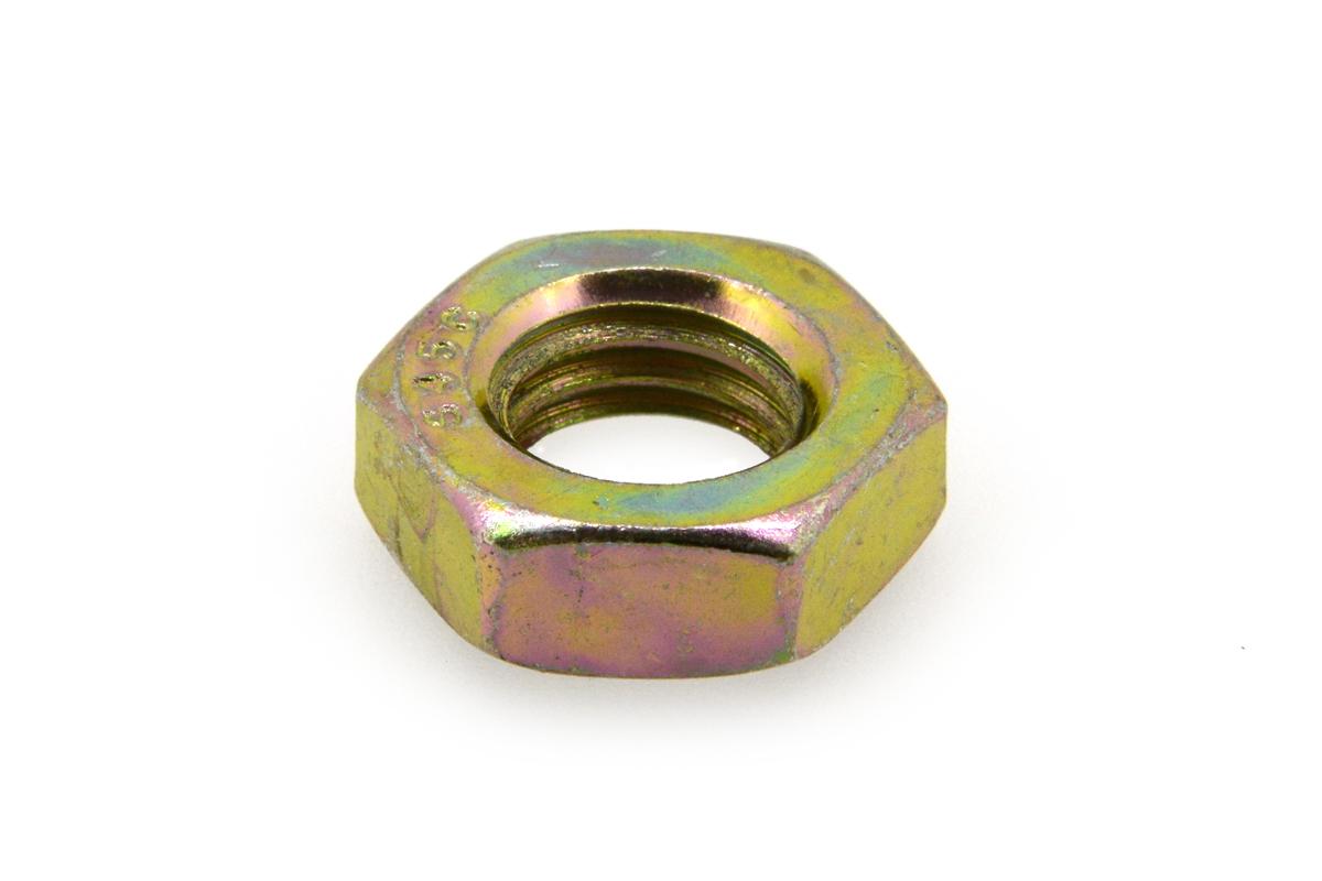 鉄(S45C・焼入れ)/クロメート 六角ナット [3種] (細目)M22 《ピッチ=1.5》 【 小箱 : 1箱/150個入り 】