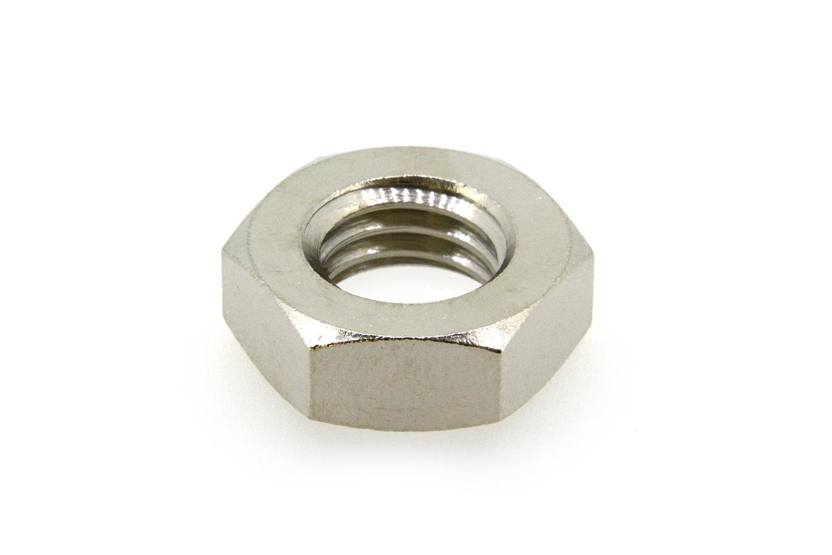 低カドミウム黄銅/ニッケル 六角ナット [3種] (細目)M18 《ピッチ=1.5》 【 小箱 : 1箱/100個入り 】