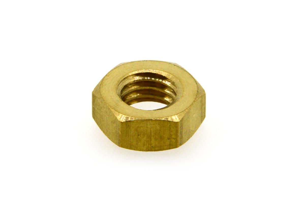 低カドミウム黄銅/生地 小形 六角ナット [3種]M8 【 小箱 : 1箱/700個入り 】