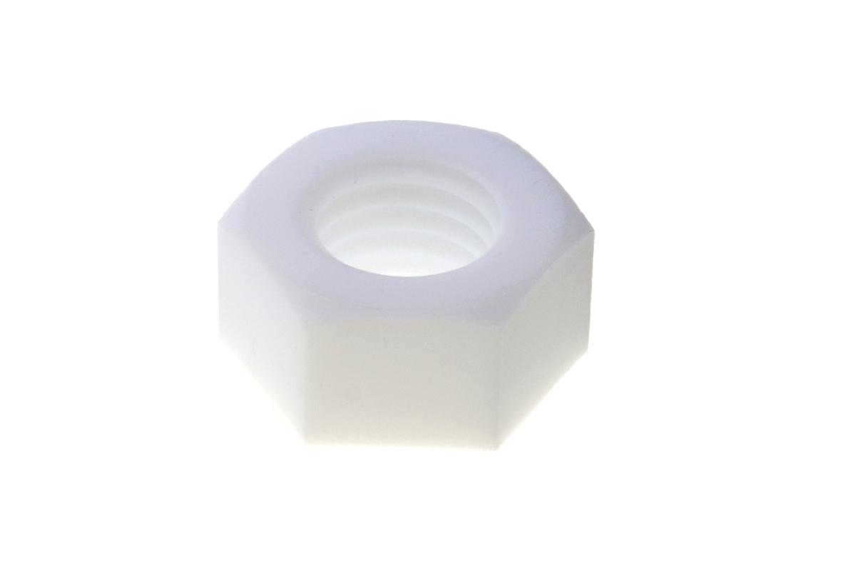 PTFE 六角ナットM10 【 小箱 : 1箱/50個入り 】