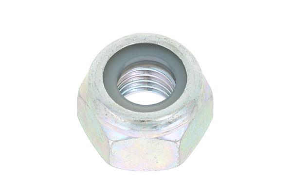 鉄/三価ホワイト ナイロンナットM2.6 【 小箱 : 1箱/4000個入り 】