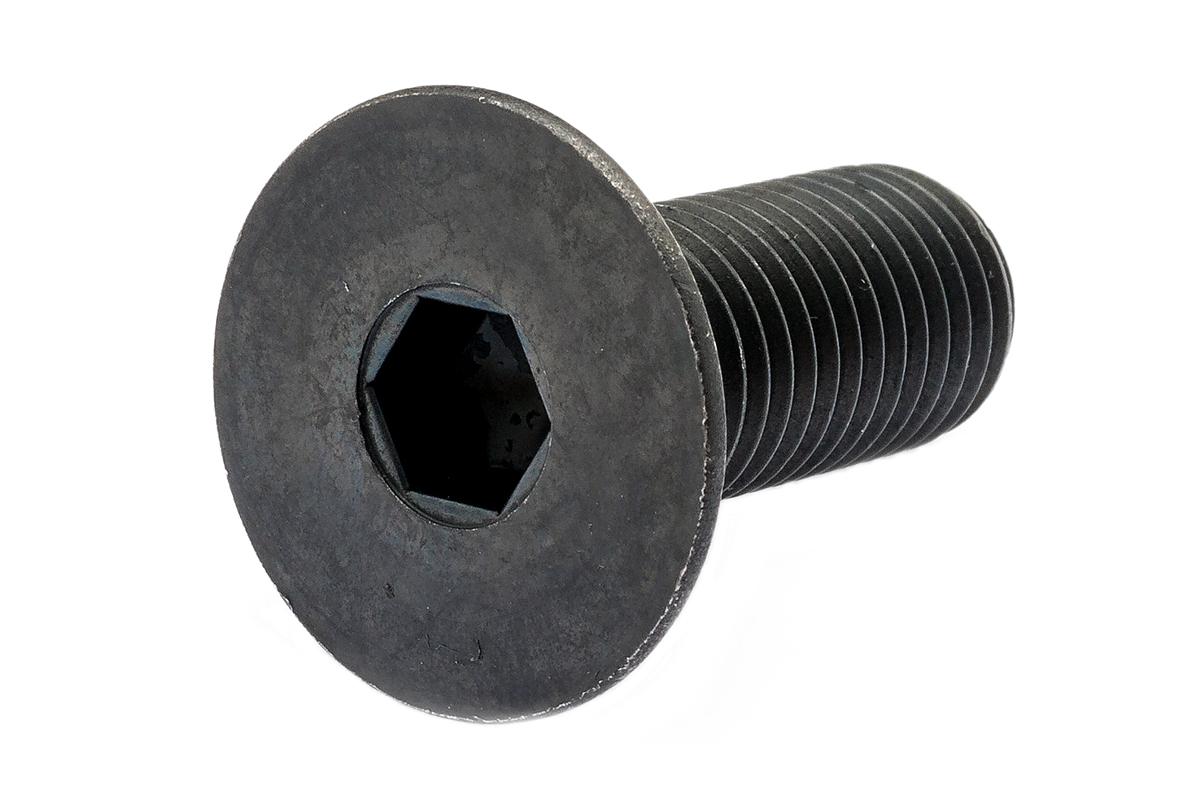 鉄(SCM435)/酸化鉄被膜 サラキャップ (細目・全ねじ)M16×45 《ピッチ=1.5》 【 小箱 : 1箱/40本入り 】