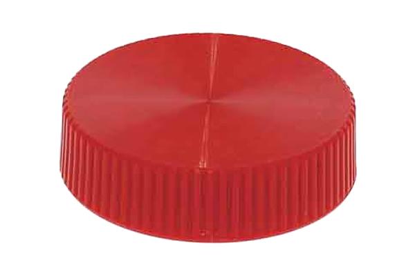 サムノブ [丸型・赤]M6用 (直径:19mm) 【 小箱 : 1箱/200個入り 】