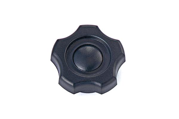 ノブナット [KGNタイプ・黒] (中:G-2)[ねじ部:低カドミウム黄銅/生地] M8 【 小箱 : 1箱/100個入り 】