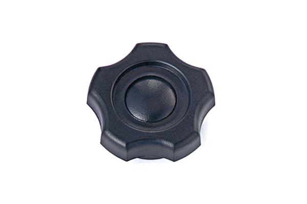 [KGNタイプ・黒] M10 1箱/70個入り (大:G-3)[ねじ部:低カドミウム黄銅/生地] ノブナット : 【 小箱 】
