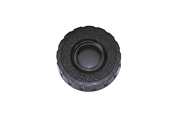 ノブナット [KRNタイプ・黒][ねじ部:低カドミウム黄銅/生地] M5用 (小:KRN-1) 【 小箱 : 1箱/150個入り 】