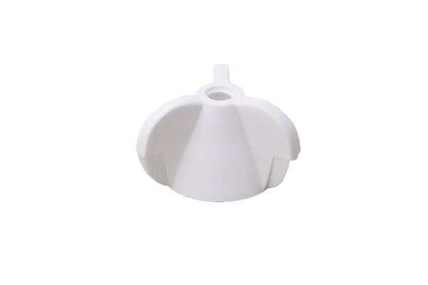 エラストマー [白] プッシュインラバーナット [白]M4 【 小箱 : 1箱/250個入り 】