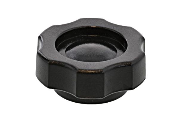 グリップナット [Gタイプ・黒] (小:G1)[ねじ部:低カドミウム黄銅/生地] M5 【 小箱 : 1箱/100個入り 】