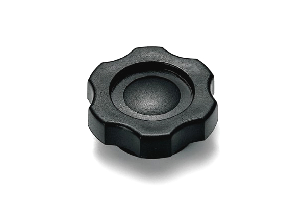 グリップナット [Gタイプ・黒] (中:G2)[ねじ部:低カドミウム黄銅/生地] M6 【 小箱 : 1箱/100個入り 】