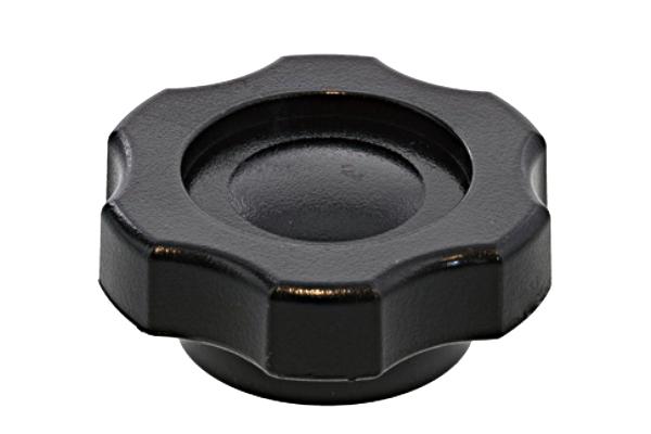 グリップナット [Gタイプ・黒] (特大:G4)[ねじ部:低カドミウム黄銅/生地] M12 【 小箱 : 1箱/100個入り 】