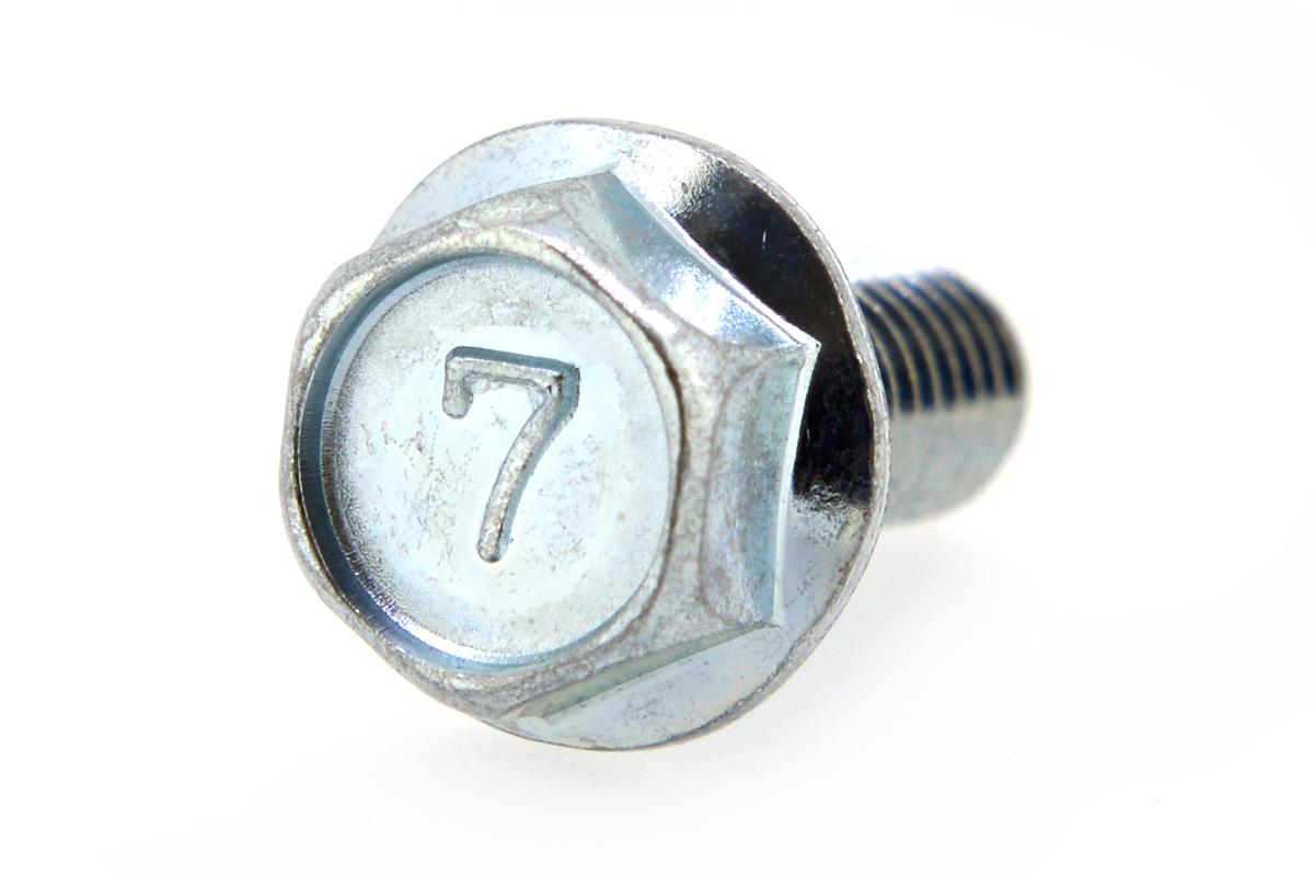 鉄/ユニクロ 7マーク フランジボルト [2種] (全ねじ)M6×30 【 小箱 : 1箱/300本入り 】