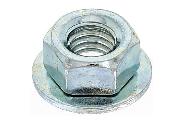 鉄/ユニクロ 皿ばねナットM4 【 小箱 : 1箱/2500個入り 】
