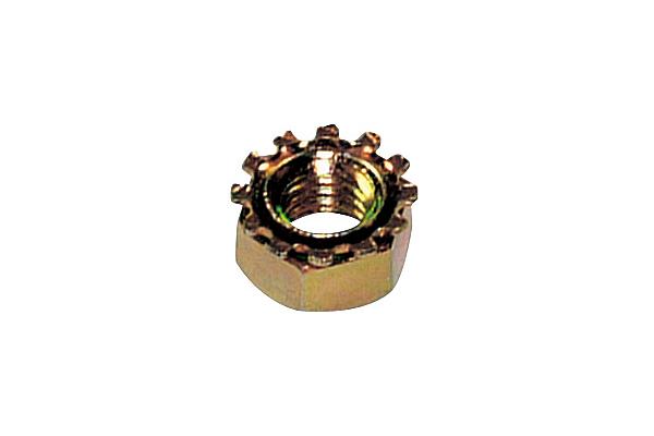 鉄/クロメート 歯付き座金ナットM4 【 小箱 : 1箱/2500個入り 】