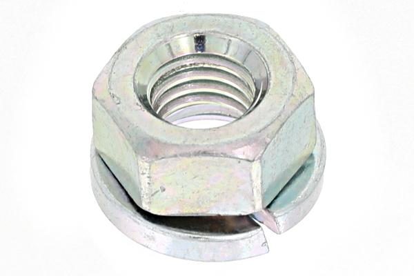 鉄/三価ホワイト スプリングナットM5 【 小箱 : 1箱/1200個入り 】
