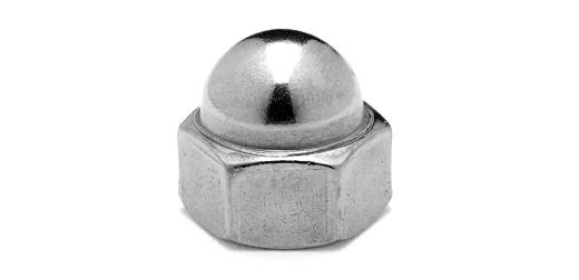 鉄/クローム 小形 袋ナットM12 【 小箱 : 1箱/250個入り 】
