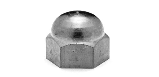 低カドミウム黄銅/ニッケル 袋ナットM6 【 小箱 : 1箱/500個入り 】