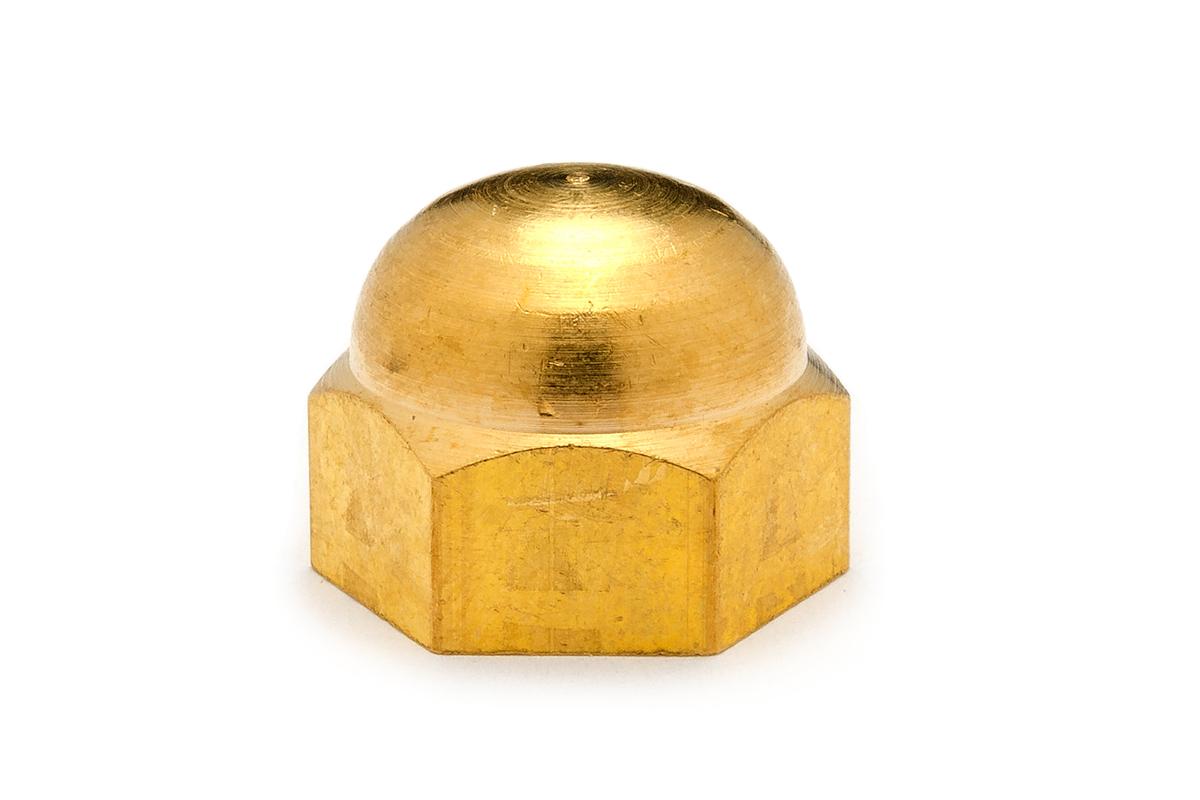 低カドミウム黄銅/生地 袋ナットM6 【 小箱 : 1箱/500個入り 】