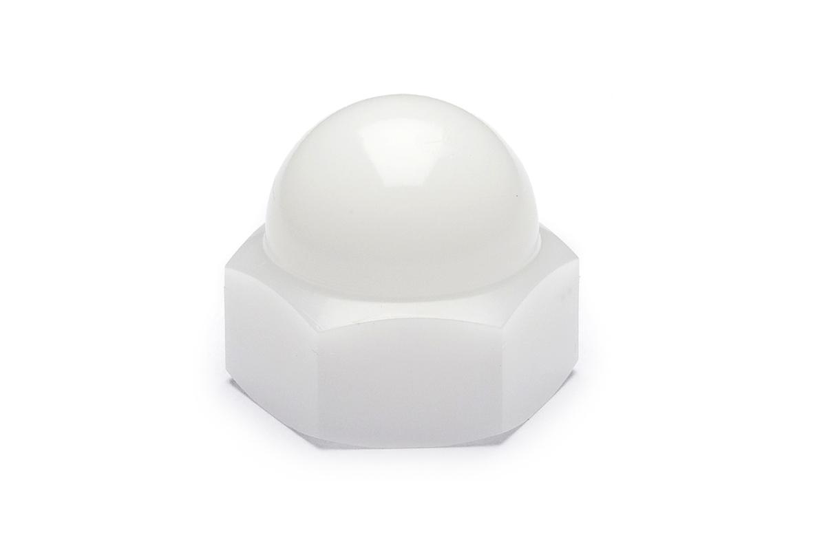 POM 袋ナットM5 【 小箱 : 1箱/1000個入り 】