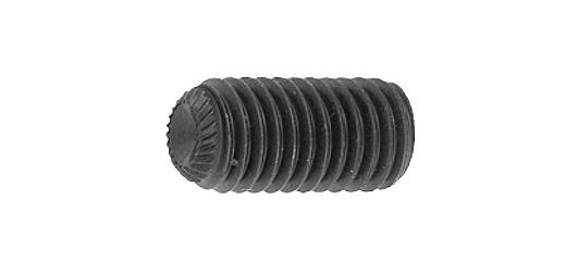 鉄(SCM435)/酸化鉄被膜 ホーローセット (ギザスクリュー・ユニファイ 並目[UNC])#10-24×1/2 【 お得セット : 10本入り 】