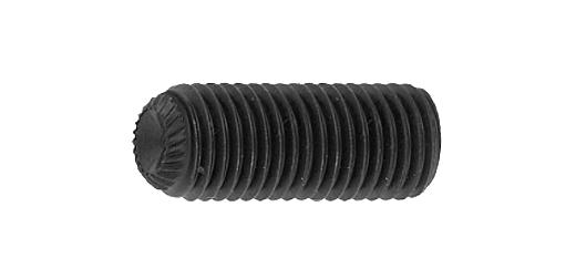 鉄(SCM435)/酸化鉄被膜 ホーローセット (ギザスクリュー・ユニファイ 細目[UNF])3/8-24×3/8 【 小箱 : 1箱/100本入り 】