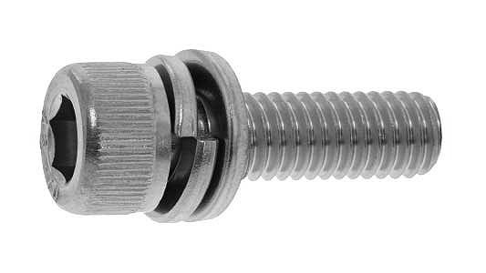 鉄(SCM435)/酸化鉄被膜 キャップセムス [I=4]M4×6 【 小箱 : 1箱/1000本入り 】
