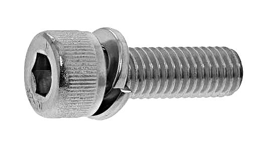 鉄(SCM435)/スズコバルト キャップセムス [P=2] Sタイプ 日産ねじ製M4×6 【 小箱 : 1箱/1000本入り 】