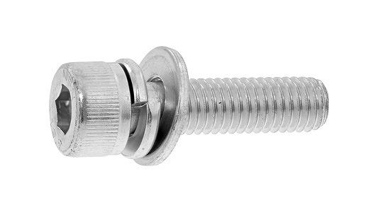 鉄(SCM435)/三価ホワイト キャップセムス [I=3] SPタイプ 日産ねじ製M10×70 【 小箱 : 1箱/50本入り 】