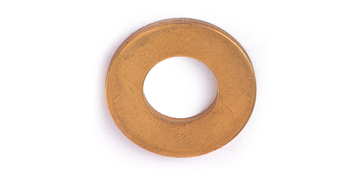 ネコポス対応 黄銅 生地 丸ワッシャー JIS小形 : 100個入り 5.5×10×0.8 好評受付中 お得セット ギフ_包装 M5用