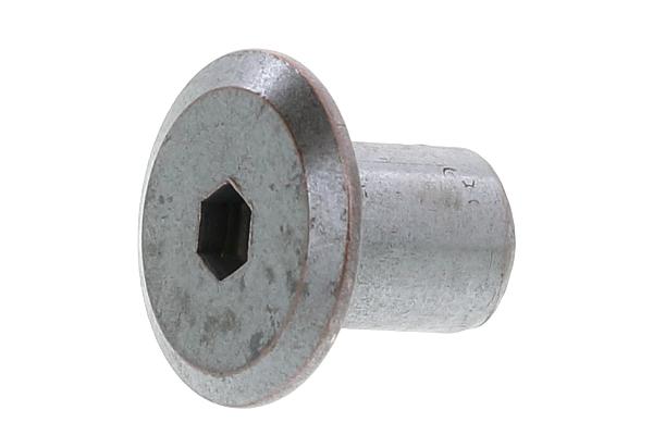 JCN-B 鉄/茶ブロンズ 1箱/150本入り 小箱 : 】 【 ジョイントコネクターナット (GB) (六角穴=4mm) [ムラコシ製]M6×17