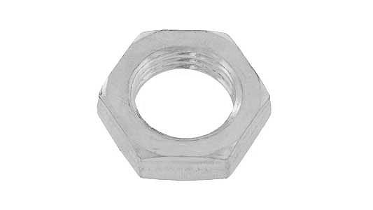 鉄/ニッケル 管用ナットM8×12×4 《ピッチ=1.0》 【 小箱 : 1箱/1000個入り 】