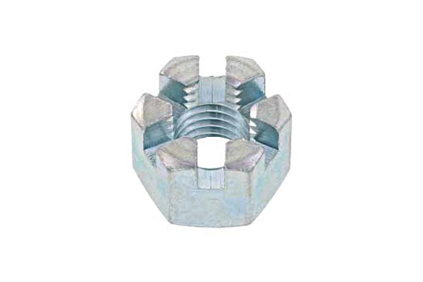 鉄/ユニクロ 溝付ナット [1種・高形]M10 【 小箱 : 1箱/200個入り 】