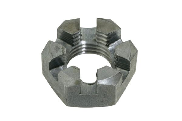 鉄/生地 溝付ナット [1種・低形] (細目)M24 《ピッチ=2.0》 【 小箱 : 1箱/40個入り 】
