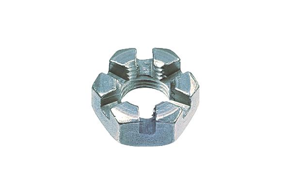 鉄/ユニクロ 溝付ナット [1種・低形] (細目)M24 《ピッチ=2.0》 【 お得セット : 10個入り 】