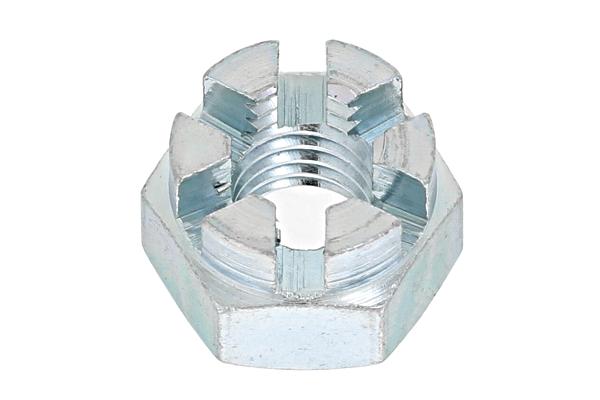 鉄/ユニクロ 溝付ナット [2種・高形]M33 【 お得セット : 10個入り 】
