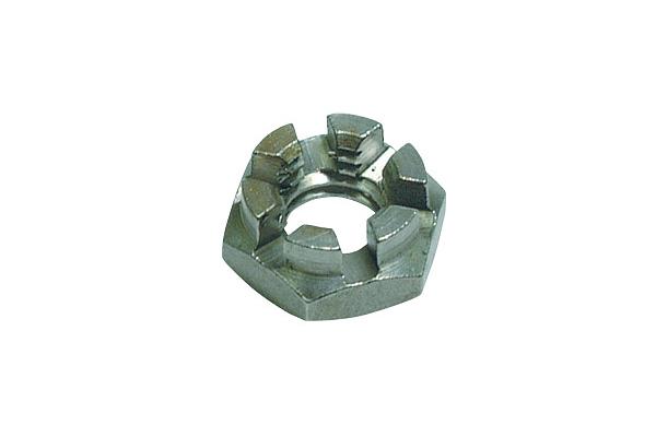 鉄/ユニクロ 溝付ナット [2種・低形]M24 【 小箱 : 1箱/40個入り 】