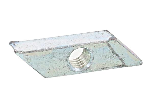 鉄/ユニクロ 菱形ナットM6 【 小箱 : 1箱/250個入り 】