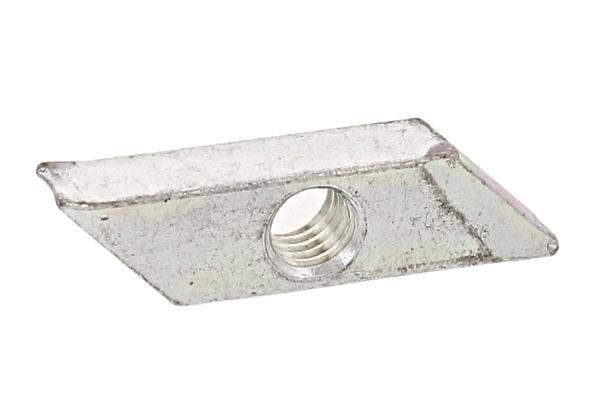鉄/三価ホワイト 菱形ナットM6 【 小箱 : 1箱/250個入り 】