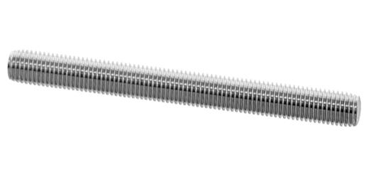 鉄/生地 定尺 寸切ボルト (細目)M20×285 《ピッチ=1.5》 【 お得セット : 10本入り 】