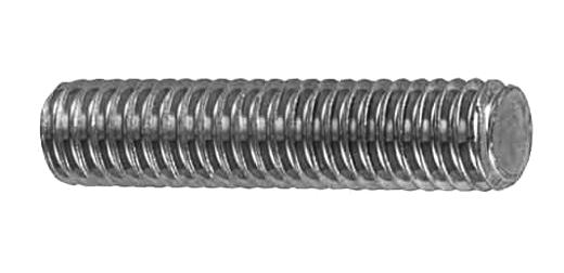 鉄/生地 寸切ボルト (ユニファイ並目[UNC])1/2-13×130 【 お得セット : 10本入り 】